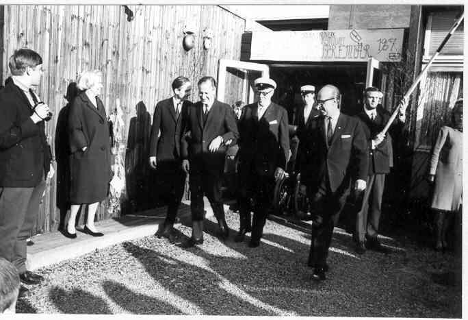 Första studentexamen på Norrbacka 1967.