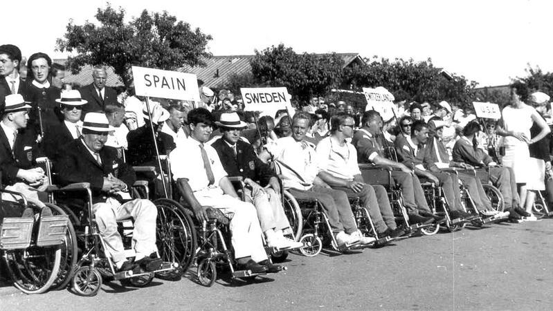 Stoke Mandeville Games 1963.