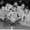 Norrbackas B-lag i volleyboll 1964.