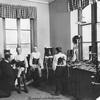 Bandageverkstaden 1914.
