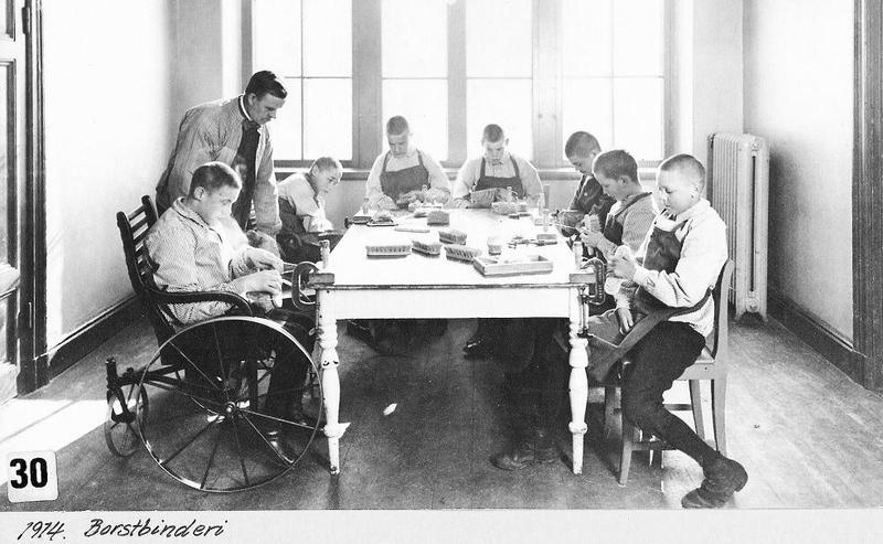 Borstbinderiet 1914.
