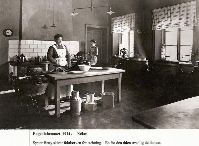 Köket 1914.