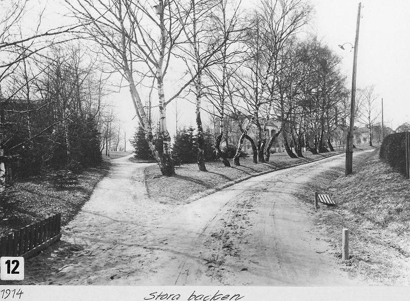 Stora backen 1914.