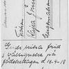 Grattiskort baksidan 1918.