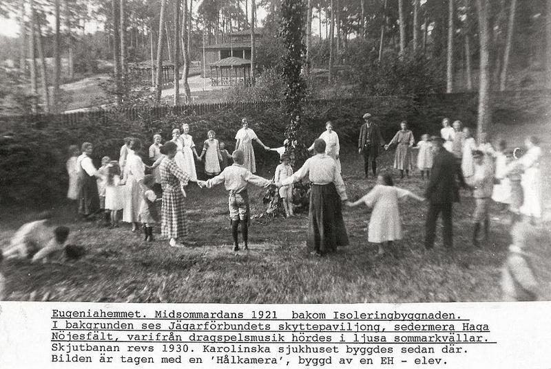 Midsommardans 1921.