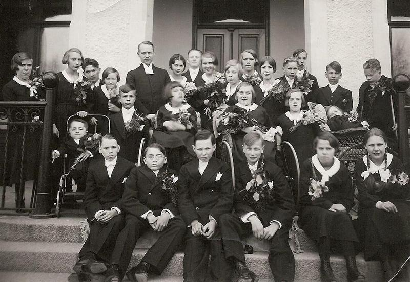 Konfirmander 1933.