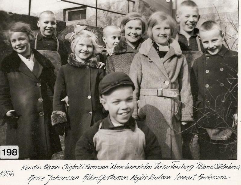 Glada elever 1936.