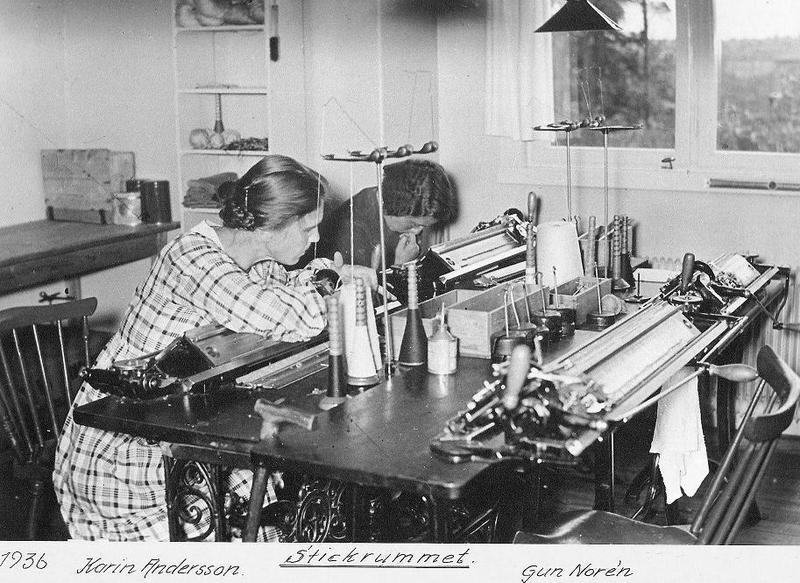 Stickrummet 1936.