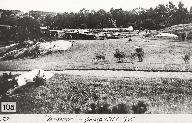 Terassen 1937.