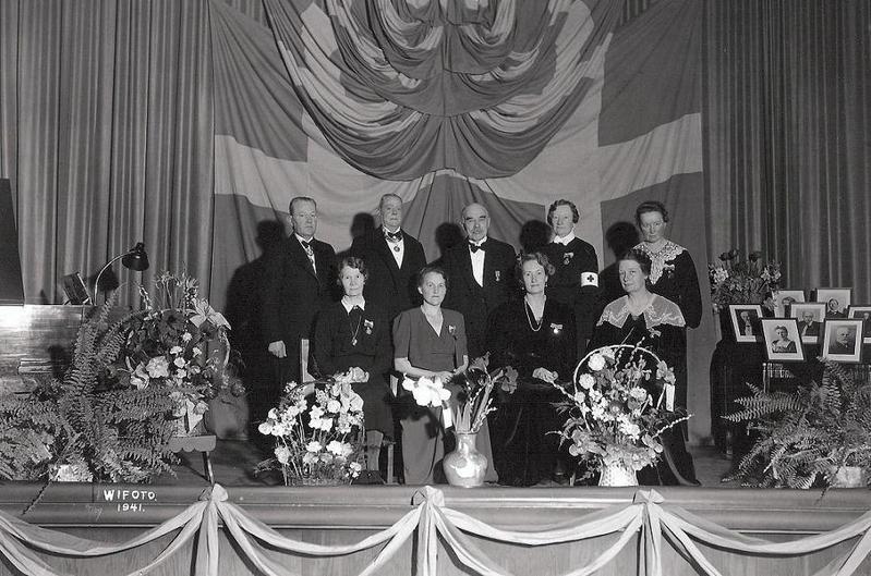 Gruppfoto 1941.