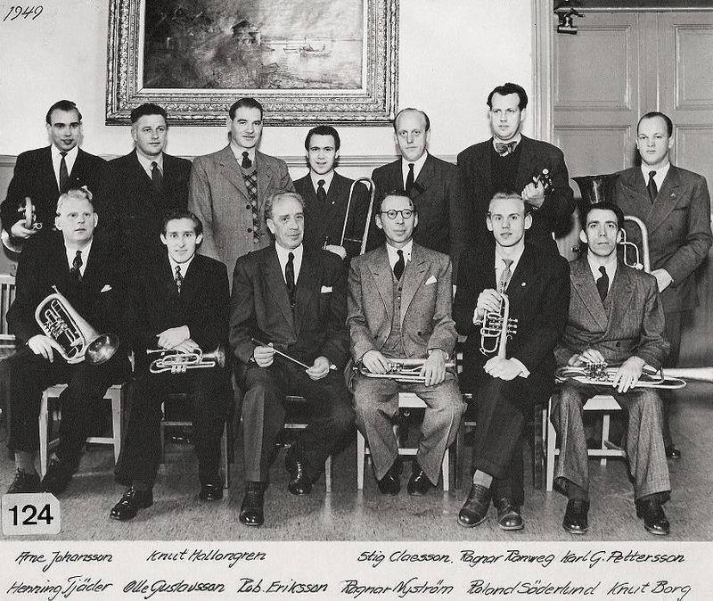 Eh:s blåsorkester 1949.