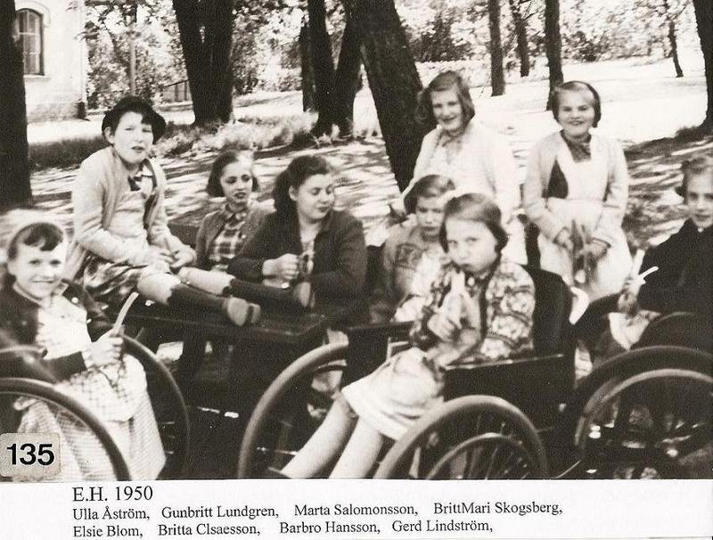 Flickor 1950.