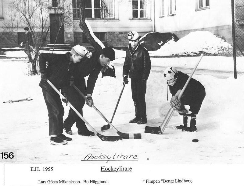 Hockylirare 1955.
