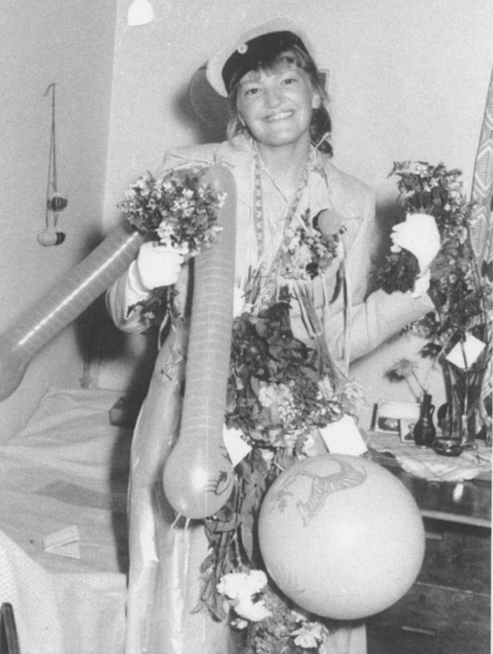 Eivor Albinsson examen 1957.