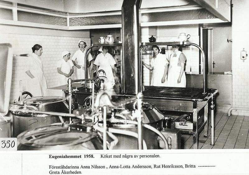 Kökspersonal 1958.