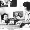 Yvonne och Siv 1958.