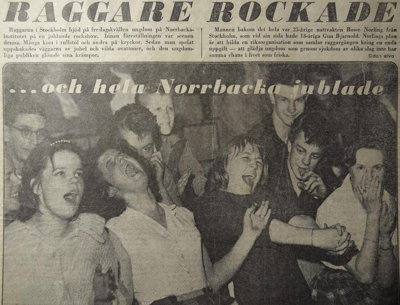 Rockn´roll på Norrbacka 1960.