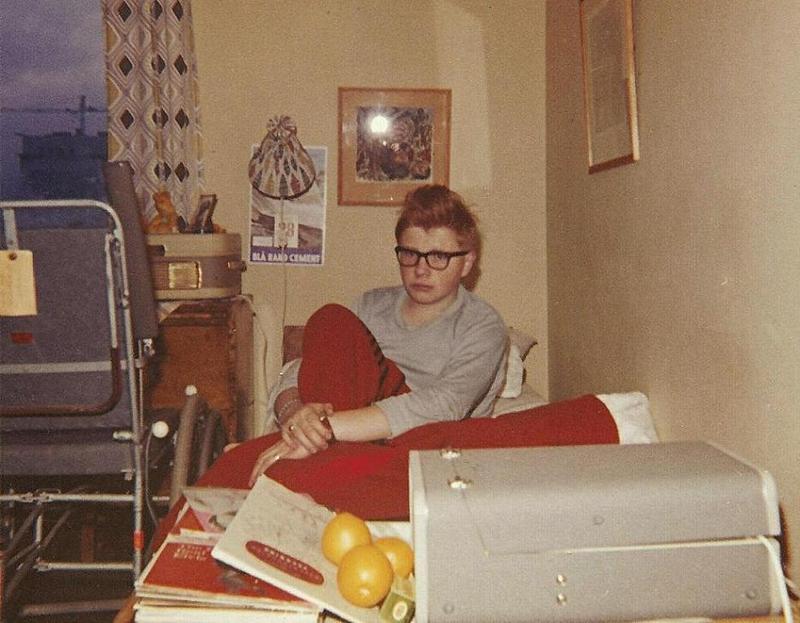 Torsten Carlsson nyvaken 1962.