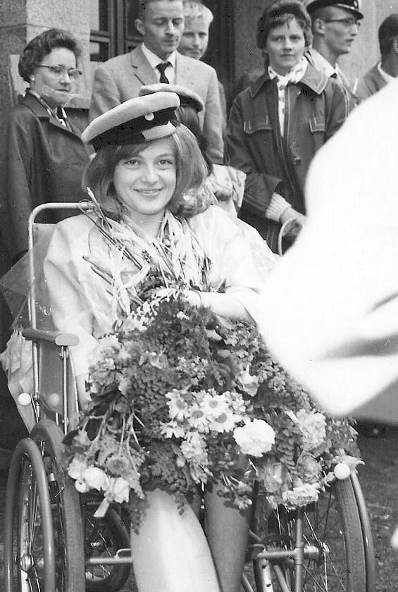 Birgitta Eriksson, examen 1963.
