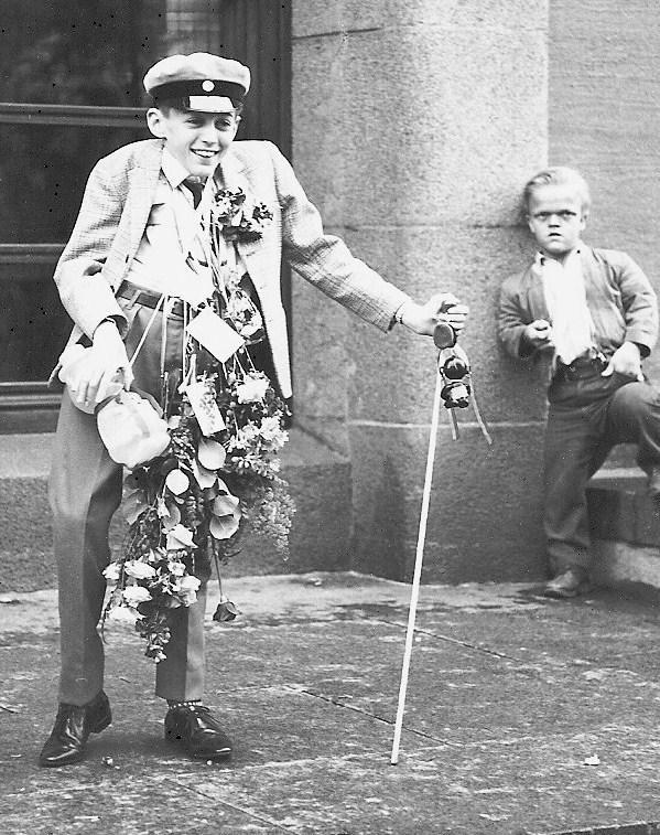 Björn Johansson examen 1963.