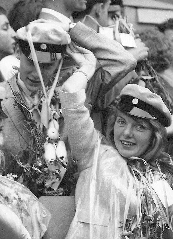 Kerstin Klintberg examen 1963.