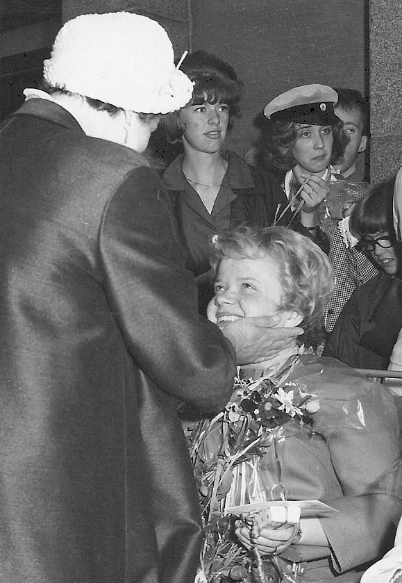 Kristina Nilsson, realexamen 1963.