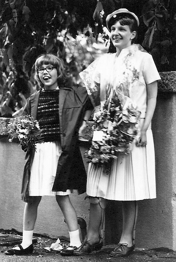 Margareta Sand examen 1963.