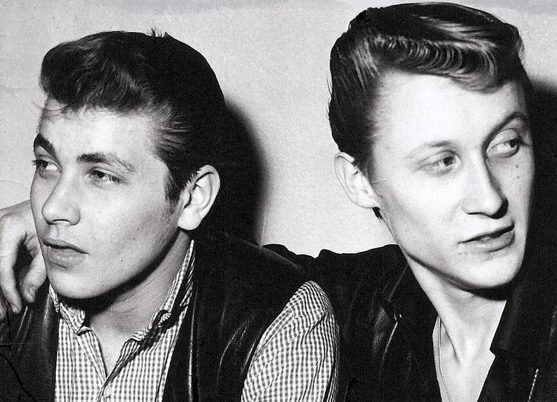 Tord Andersson och Rolf Johansson 1963.
