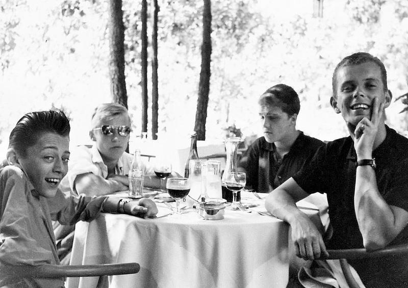 Skolresa till Riva Del Sole 1963.