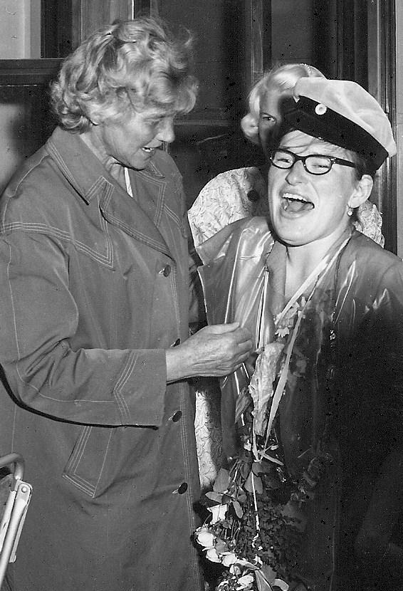Ulla Åström examen 1963.