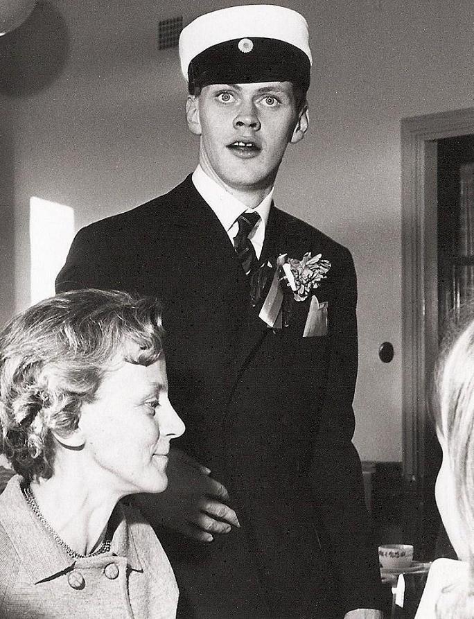 Klas-Åke Nilsson student 1967.