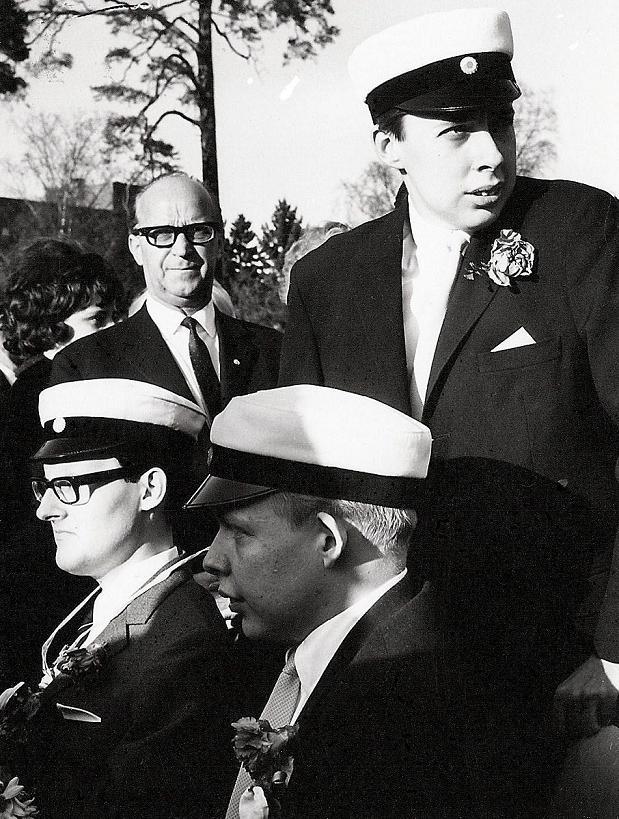 Lennart och Bertil Bosrup examen 1967.