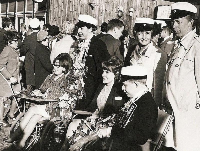 Studentexamen på Norrbacka 1967.