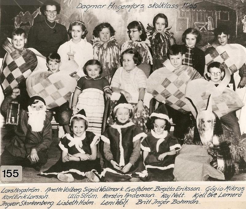 Dagmar Hagenfors klass 1955.
