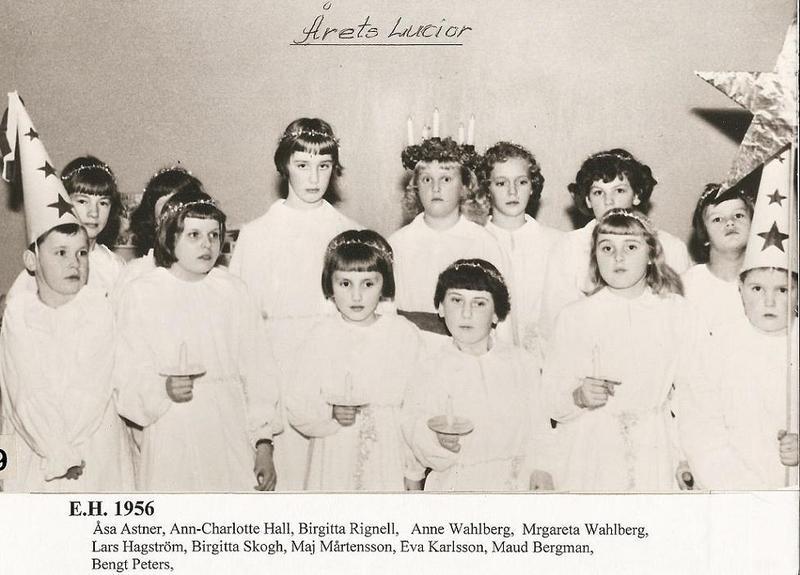 Luciafirande 1956.