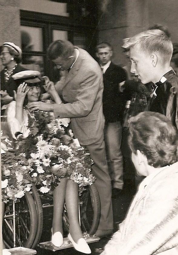 Eva Jacobsson examen 1963.