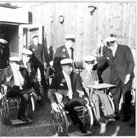 Första studenterna på Norrbacka 1967.