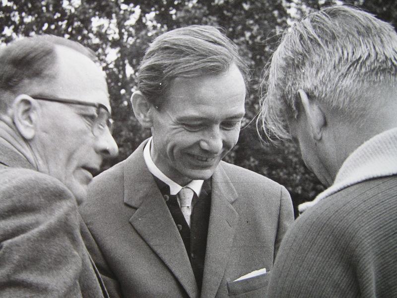 Linér, Gert Boström och Bengt Hollén 21/9 1961.