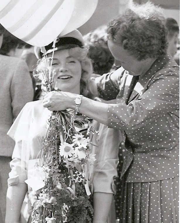 Gunnel Kjällqvist, realexamen 1960.