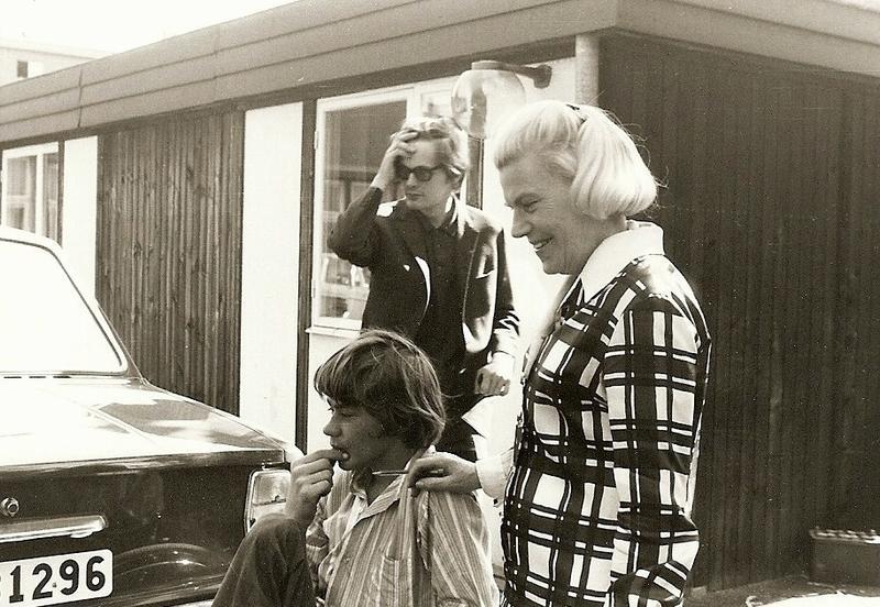Hjördis Boström och Gunnar Berglund 1969.