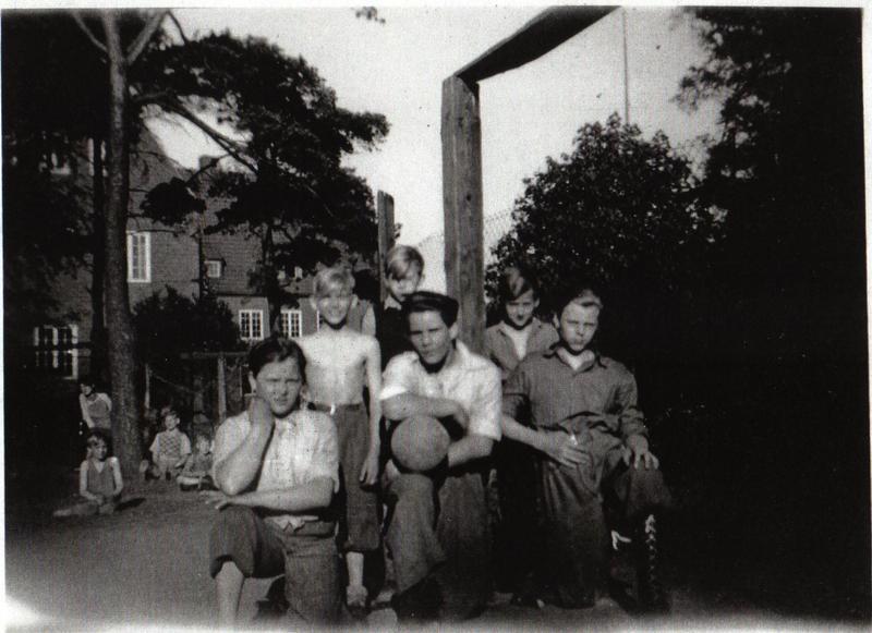IK Sparta på skolhemmet juni 1950