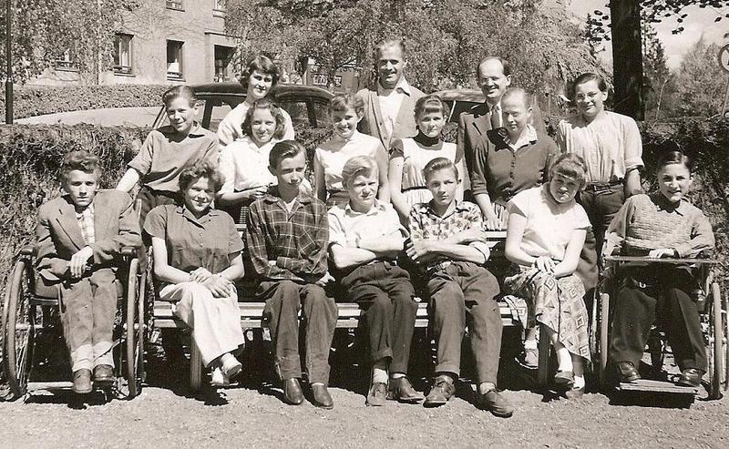 Klass 2:4 läsåret 1955-56.