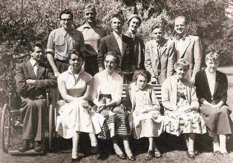 Klass 3:4 läsåret 1954-55.