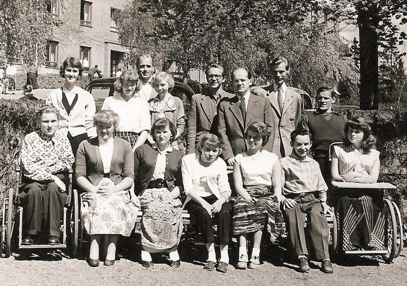 Klass 3:4 läsåret 1955-56.