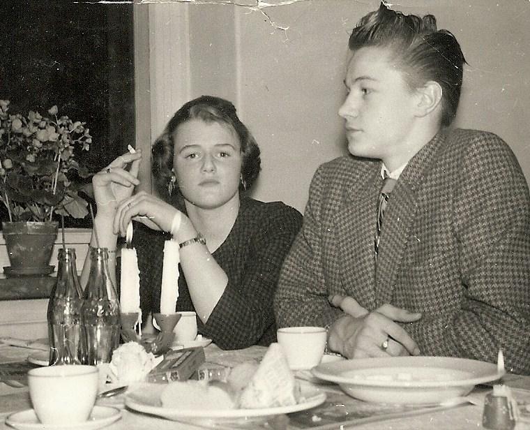 """Nonne"" och Sune 1958."