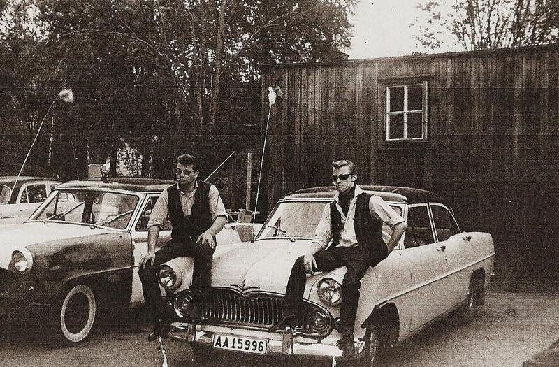 Tord och Rolf 1964.