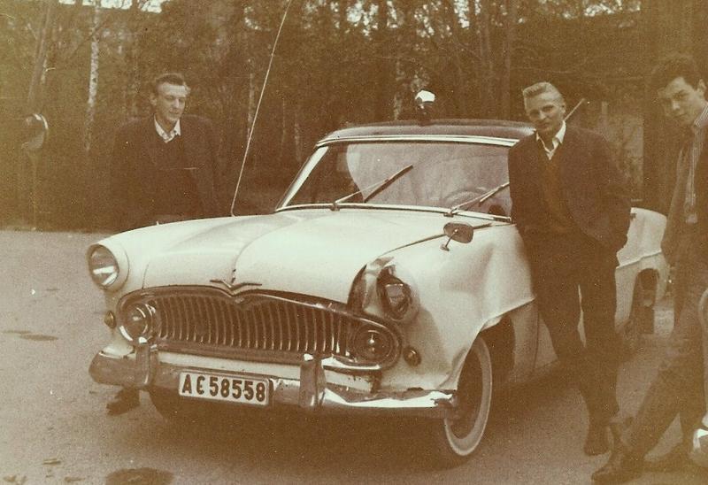 Seppos nykrockade bil 1964.