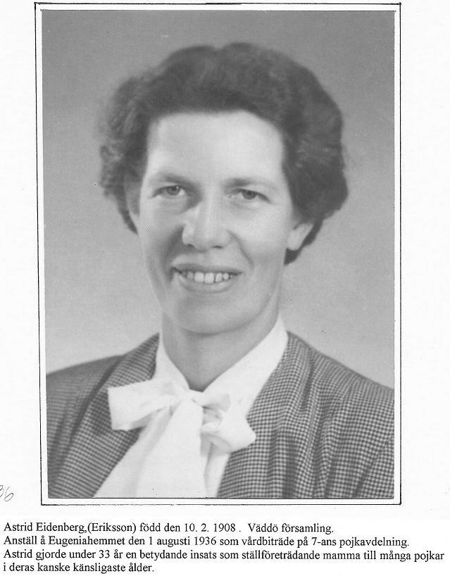 Astrid Eidenberg.