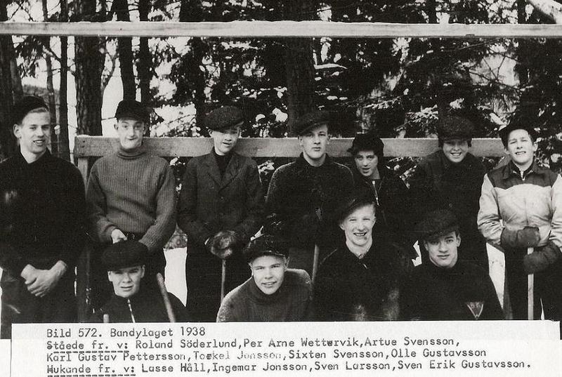 Bandylaget 1938.
