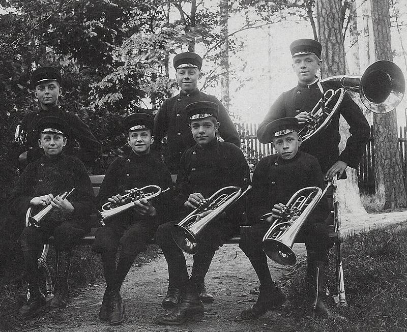 Blåsorkestern.